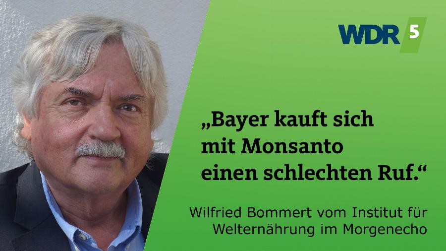 Bayer kauft sich mit Monsanto einen schlechten Ruf