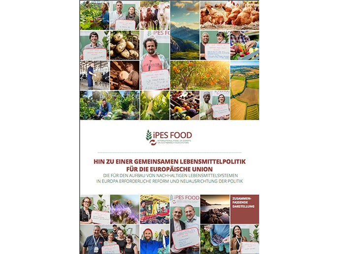 Towards a Common Food Policy for the EU